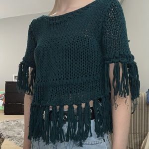 Fringe Free People sweater